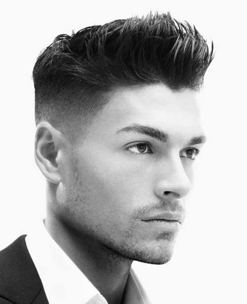 Fine It Is Spikes And Men Hair Cuts On Pinterest Short Hairstyles Gunalazisus