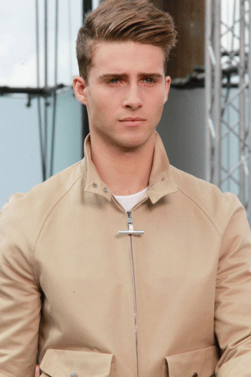 Men's hair trends for Spring/Summer 2012