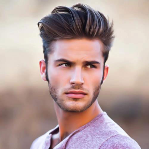 Medium haircuts for men with thin hair