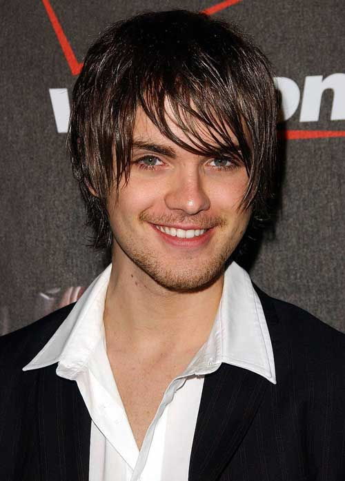 Medium shaggy hairstyles for men 2012
