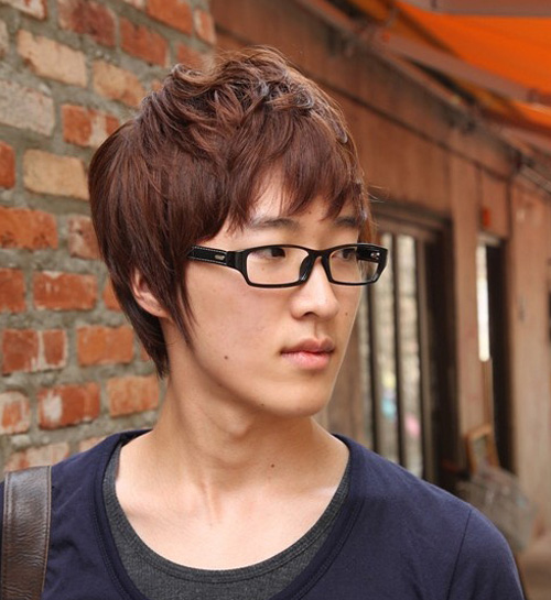 Trendy asian hairstyles for men 2012