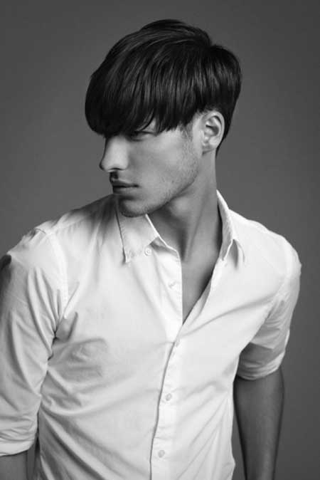 Brush down haircuts for men