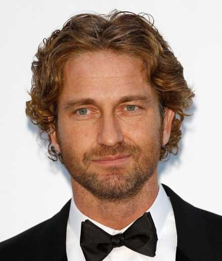 Celebrity curly hairstyles for men