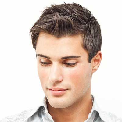 Classic hairstyles for men with straight hair