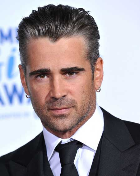 Colin Farrell haircut