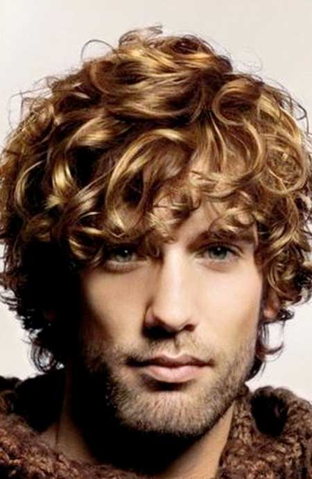 Curly hairstyles men medium