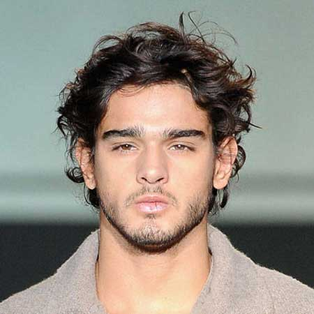 hairstyles for men with curly hair  the best mens