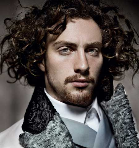 Latest curly hairstyles 2013 for men