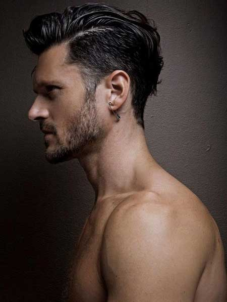 Men Fashion Hair Style trendy hair cut for men s