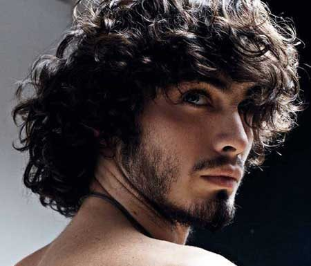 Best long curly hairstyles for men