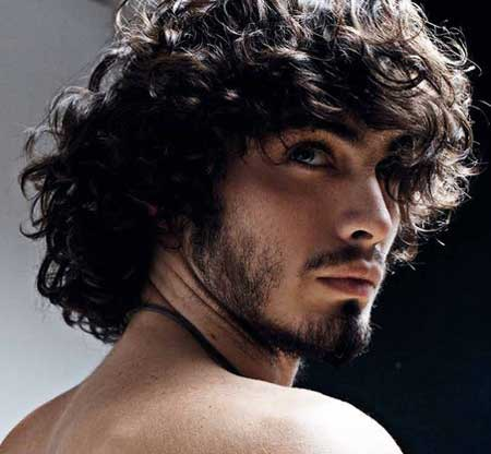 Astounding 1000 Images About Men39S Curly Hair Styles Alex On Pinterest Men Hairstyles For Women Draintrainus