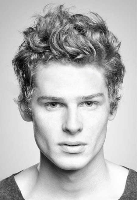 Thin Curly Hairstyles For Men Mens Hairstyles For Fine Curly