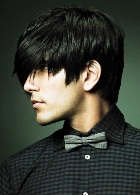 ... hairstyles Simple medium hairstyles for men Trendy hair cuts for men