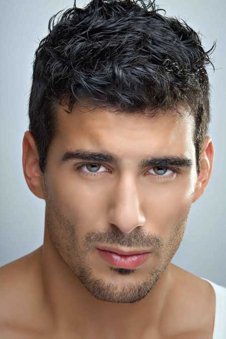 Mens short thick hairstyles