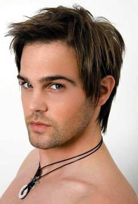 Medium Hairstyles for Men with Hair