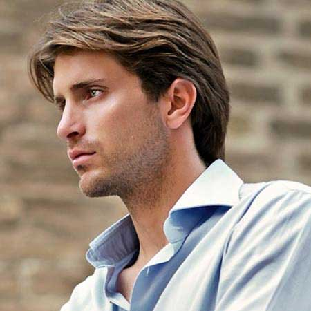 Haircut styles men medium length hair