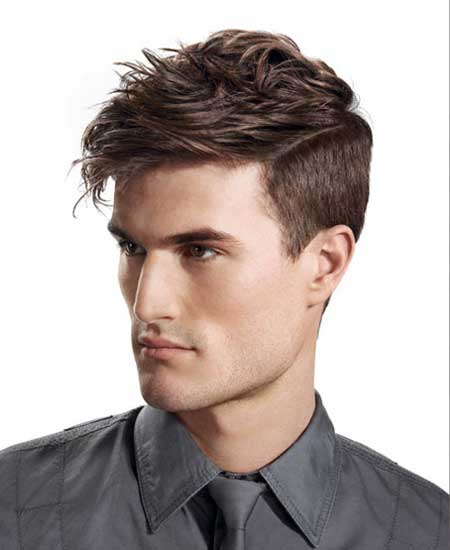 Trendy medium men hairstyles