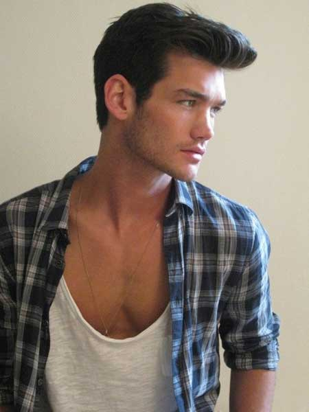 Trendy medium male hairstyles 2013
