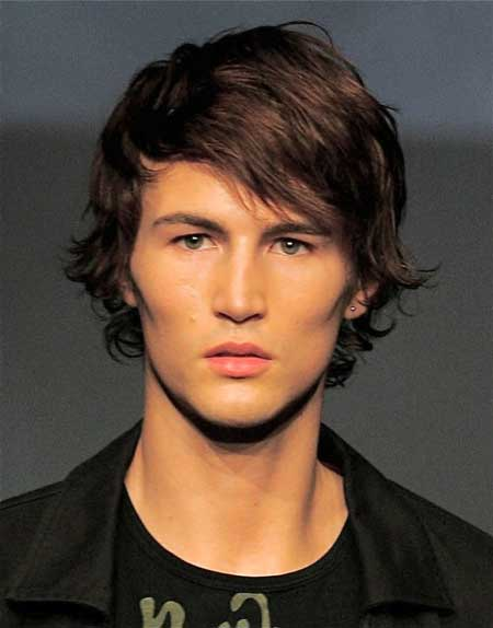 Trendy mens medium length haircuts