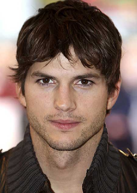 Ashton Kutcher hairstyle