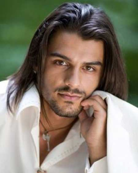 male long hair style