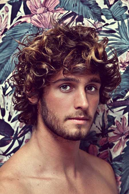 Marvelous Wavy Curly Hairstyles For Men Mens Hairstyles 2016 Hairstyles For Men Maxibearus