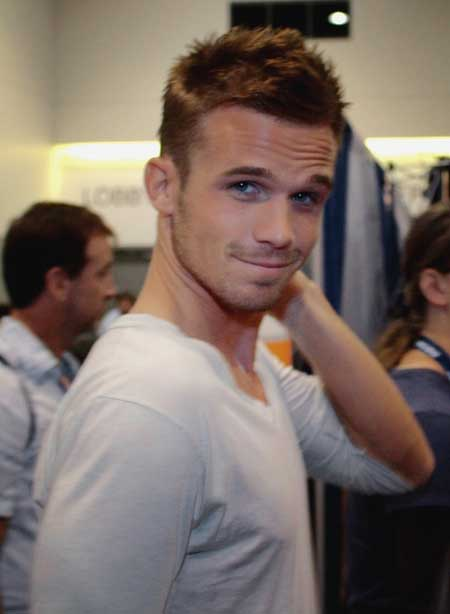 Cam Gigandet short spiky hairstyles