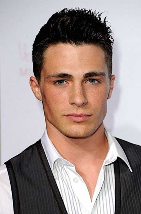 Colton Haynes hairstyle
