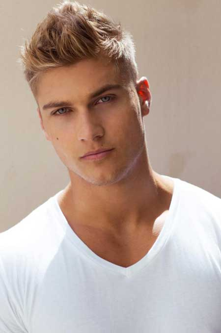 Mens Blonde Hair Styles 48