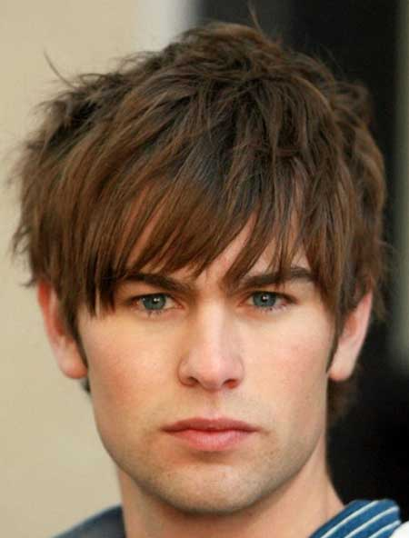 Hairstyles for men with thick hair and round faces  Best hairstyles for round faces and thick hair men