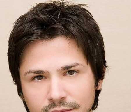 Good hairstyles for round faces for men