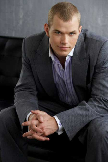 Kellan Lutz short haircut