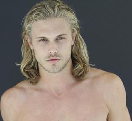 Men blonde long hairstyles
