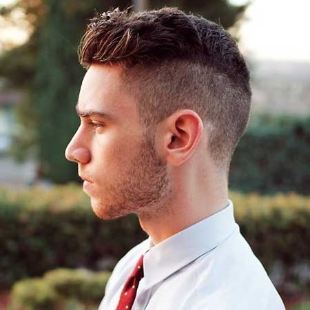 Short side and back hairstyles for men