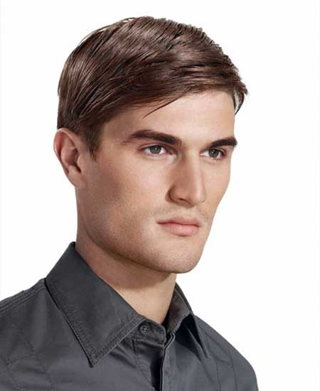 Men straight hair haircuts