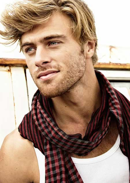 Mens blonde hairstyles 2013