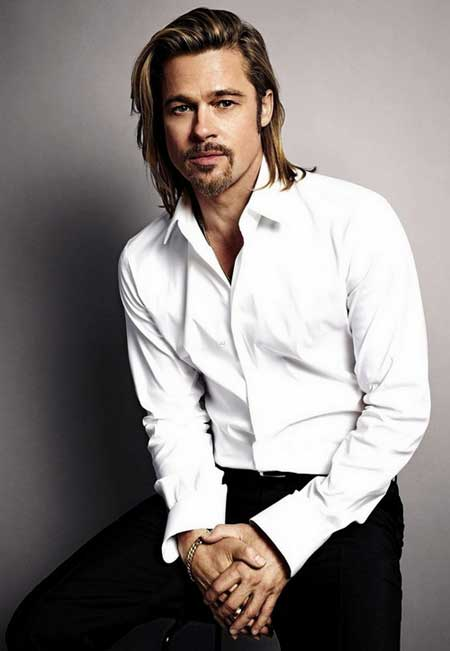 Mens long hairstyle 2013
