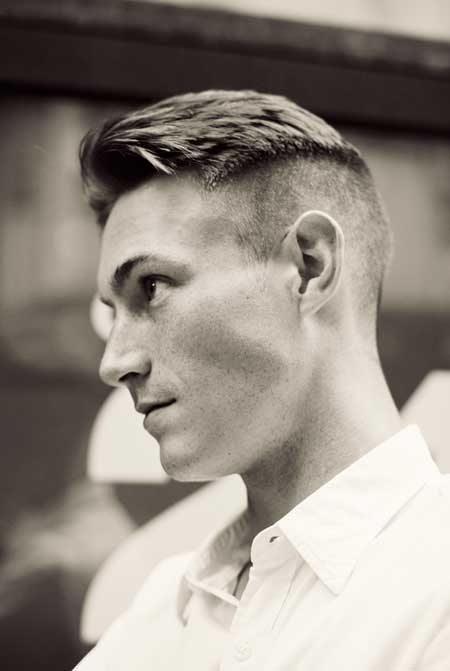 mens hairstyles over 50 : Elegance Faux Hawk Hairstyles for Men Undercut Hairstyle for Men ...