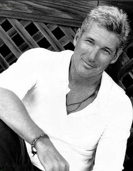Richard Gere short hairstyles