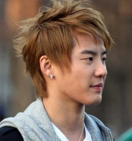 Trendy hairstyles for asian men 2013
