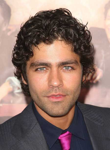 Easy hairstyles for curly hair men
