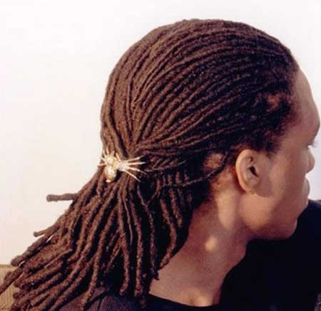 Long hairstyles for black men 2012