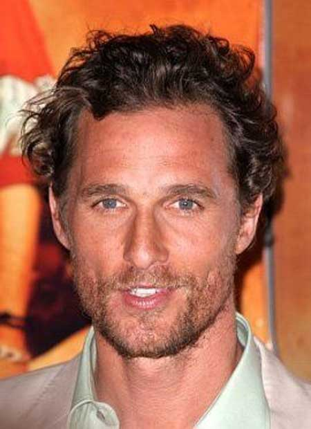 Matthew Mcconaughey curly hair