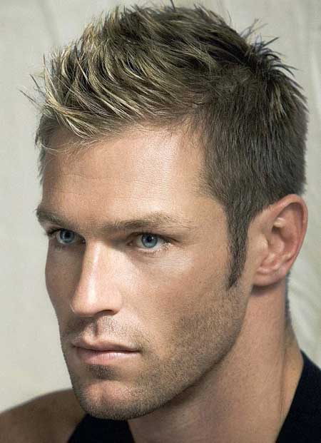Mens short blonde hairstyles 2013