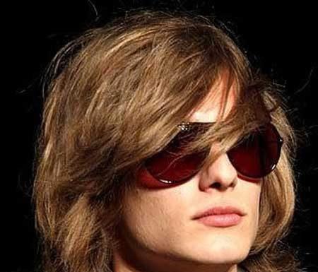 Trendy long hairstyles for men