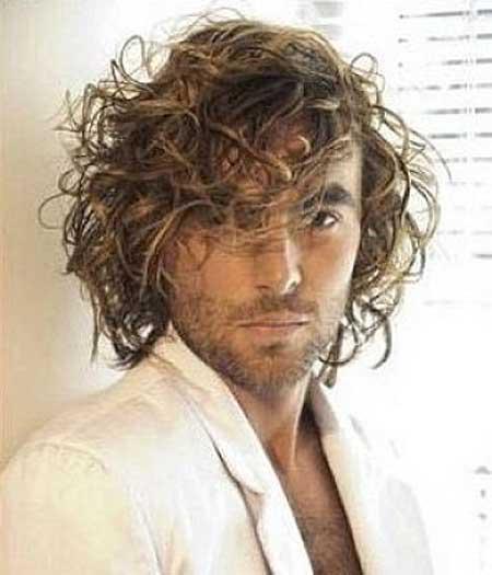 Medium length long curls