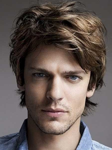 Men Medium Length hairstyles 2013  Mens Hairstyles 2014