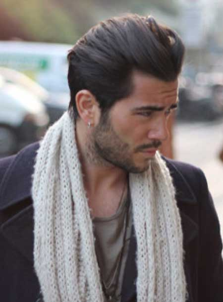 Relaxed Pompadour Hairstyle
