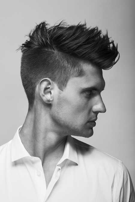 Curly top and slightly trimmed sides and back for men cool hairstyle - Short Nice Haircuts For Men Mens Hairstyles 2017