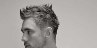 Short sleek hairstyles for men